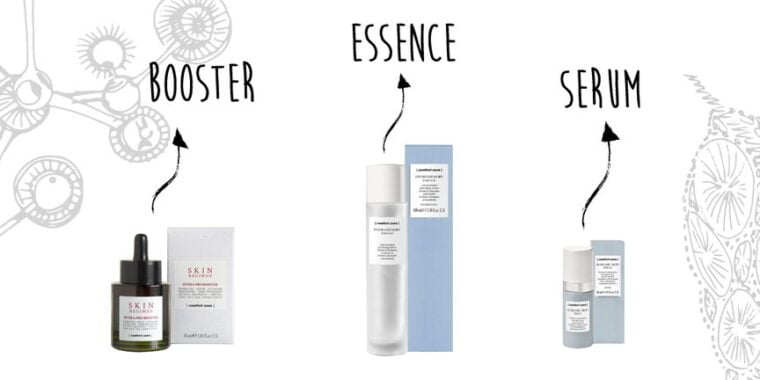 Apply An Essence, Booster, And Serum