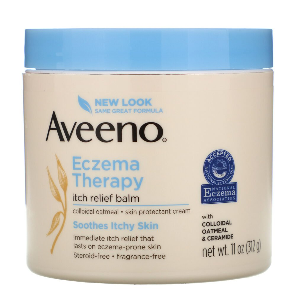 Aveeno Eczema Therapy Itch Relief Balm- from the best face moisturizers