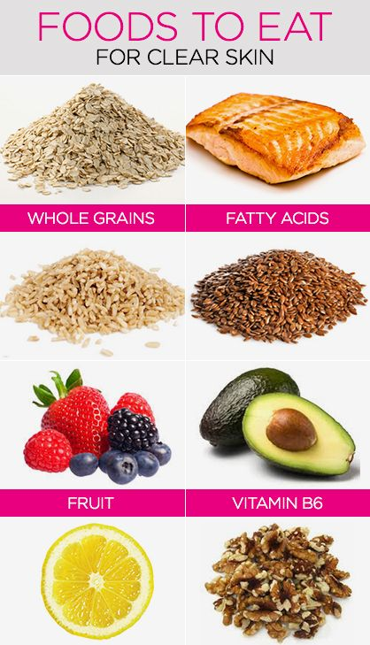 Best Foods For Clear Skin: Diet For Clear Skin In a Week