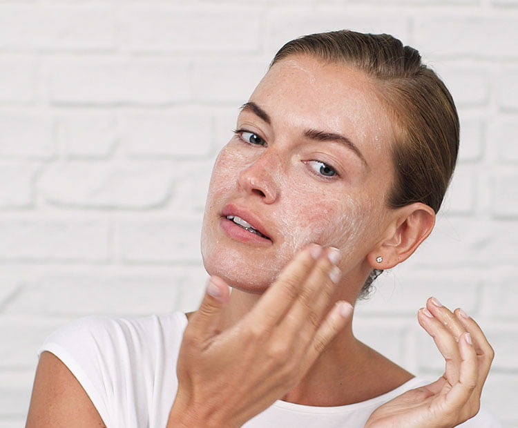 Exfoliate your skin once a week