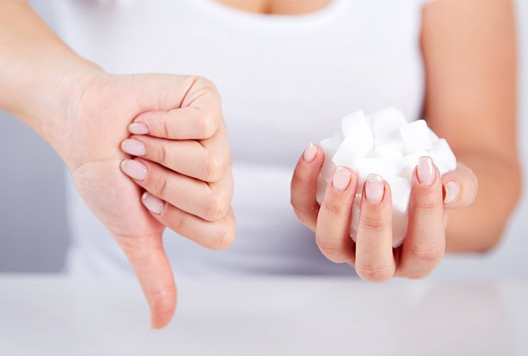 Limit your sugar consumption - How to get rid of wrinkles