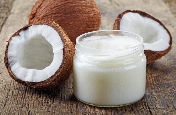 Use coconut oil - Homemade wrinkle remover