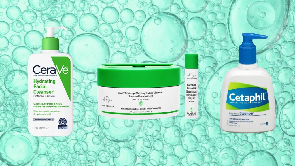 Use the best cleanser according to your skin type.